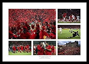 Framed Liverpool 2005 Champions League Final Photo Memorabilia from Home of Legends
