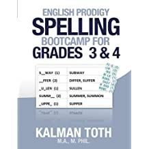 English Prodigy Spelling Bootcamp For Grades 3 & 4 (English Edition)