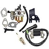 OuyFilters Repalce carburatore bobina di accensione con candela per Honda GX160GX2005HP 6.5hp motore generatore tosaerba a motore