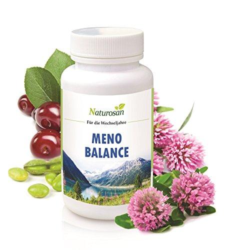Alpvital Meno Balance - Östrogen Wechseljahre - Soja Isoflavone 120 Kapseln