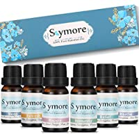 Skymore Top 6 Reine Duftöle Geschenk Set, 100% Pure Ätherische Öle, 6 Effekts Name (Refresh, Sleep, Immunity, Relaxation, Decompression, Breathe), Raumdüfte für Aromatherapie/Diffuser Geeignet, 6x10ml