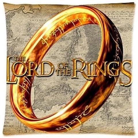 uk-jewelry de Señor de los anillos diseño personalizado con cremallera funda de almohada pillow Sham Throw Pillow Cojín caso cubierta 18x 18pulgadas
