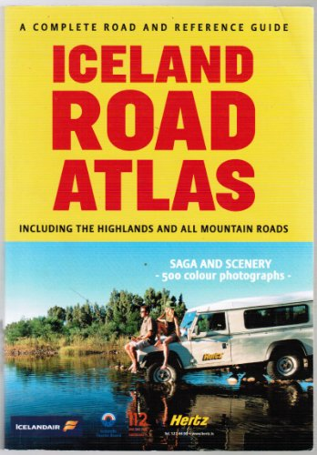 Iceland Road Atlas and Reference Guide