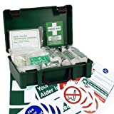 Best Safety Posters - 10 Person HSE Workplace First Aid Kit + Review