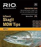 Rio Fliegenfischen InTouch Skagit MOW, Fly Fishing Fly Line, schwarz/grün, 7.5' T-11/2.5' Float Fishing Line, Black/Green