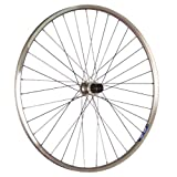 Taylor-Wheels 28 Zoll Hinterrad ZAC19 mit Shimano Deore Nabe - silber