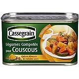 Cassegrain légumes couscous, épices douces et raisins secs 1/2 375g - ( Prix Unitaire ) - Envoi Rapide Et Soignée