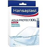 Hansaplast Aqua Protect XXL steril 8 x 10 cm Wundverband, 5 St.