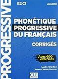 Phonétique progressive du français. Niveau avancé. Lösungsheft