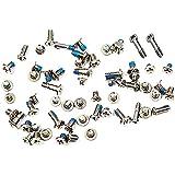 Bislinks® Plein Vis Set Silver/White vis inférieures Pentalobe remplacement pour iPhone 6
