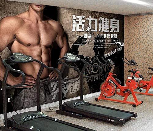 Benutzerdefinierte 3D-Vlies Fototapete Vitalität Fitness-Studio Sport Fitness Fototapete @ 250 * 175cm - 250 Fitness-studio