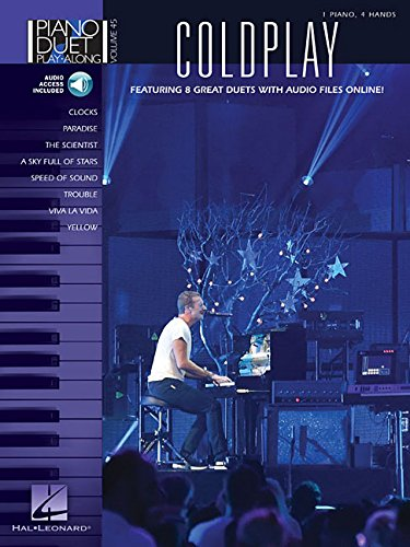 Coldplay piano+enregistrements online (Piano Duet Play-Along)