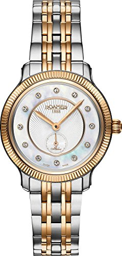 ROAMER Damen Analog Quarz Uhr mit Edelstahl Armband 624855 49 29 60