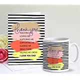 TIED RIBBONS Fathers Day Gift from Son Coffee Mug(320Ml) with Greeting Card
