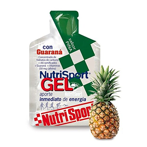 Nutrisport Gel Guarana Cycling 24 x 40ml Ananas