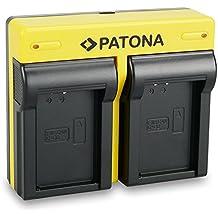 PATONA Dual Cargador Canon LP-E12 con micro USB
