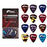 Tiger GAC63-12 - Set de 12 p�as para guitarra (celuloide)