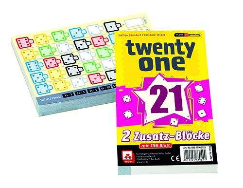 NSV-4047-TWENTY-ONE-Ersatzblcke-2-er-Set-Wrfelspiel