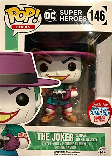Funko - Figurine DC Comics - The Killing Joker NYCC 2016 Pop 10cm - 0889698115681 (Sammelkarten Dc)