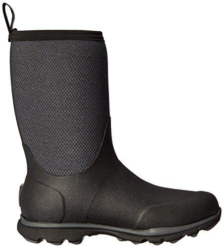 Muck Boots Herren Arctic Excursion Mid Gummistiefel Schwarz (Black/ Grey)