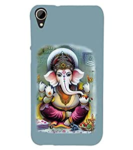 Vizagbeats Lord Ganesha Back Case Cover for HTC Desire 828