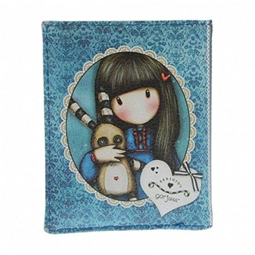 Gorjuss Santoro Eclectic Travel Card Halter-Hush Little Bunny Design