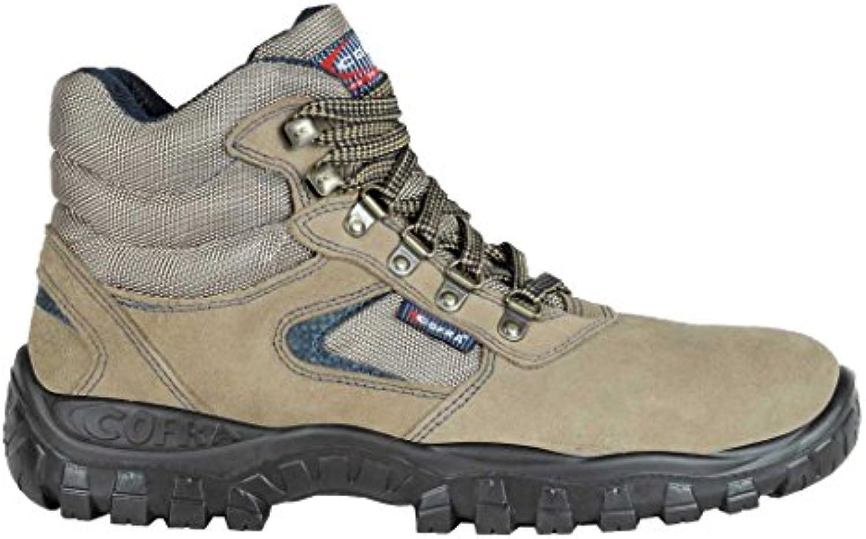 Cofra ta040 – 000.w48 calzado de trabajo,Horus, tamaño 13, marrón