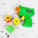 NET TOYS Konfetti Shooter mit Munition Konfettipistole Konfetti Pistole Lamettaglitzer Party Popper Glitter Gun