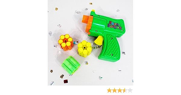 CONFETTI SKY 48 shots pink GUN toy blaster pistol party popper shooter refill