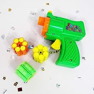 Canon à confettis avec munitions pistolet à confettis Pistolet à confettis avec étincelles soirée disco carnaval décoration