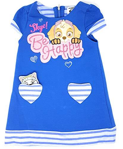 Kleid mit Glitzer Pailletten und Reissverschluss (Blau, 5 Jahre (Herstellergröße 110)) ()