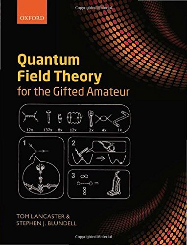 Quantum Field Theory for the Gifted Amateur by Tom Lancaster (2014-06-17)