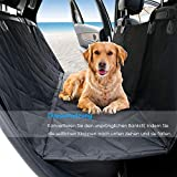 URPOWER Hundedecke Auto Wasserdicht mit Seitenschutz und Hunde-Sicherheits-Gurt fürs AutoAnti-Rutsch Autoschondecke für Hunde maschinenwaschbar & Langlebig Kofferraumschutz Hunde 54