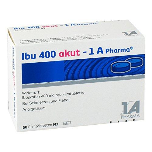 Ibu 400 akut - 1 A Pharma, 50 St. Tabletten