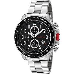 Red Line RL5001811 - Reloj de Caballero Movimiento de Cuarzo con Brazalete metálico Metálico