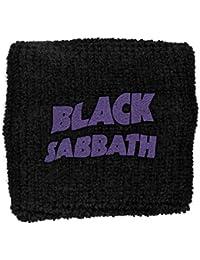 Black Sabbath Purple Wavy Logo Sweatband