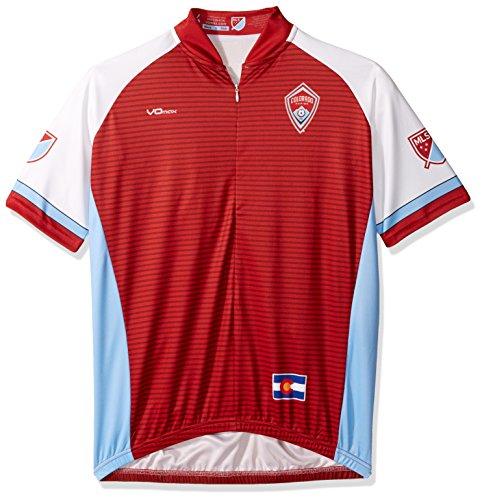 VOmax MLS Herren Radtrikot Primary Short Sleeve, Herren, rot, XX-Large