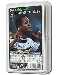 Quartet Jeu Borussia Mönchengladbach BMG + GRATIS Stickers Mönchengladbach Forever, cartes de jeu, cartes, Quartet, jeu
