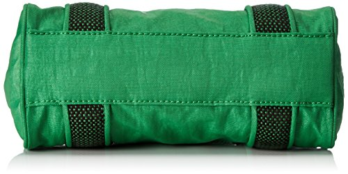 Kipling - Bex Mini, Borse a secchiello Donna Verde (Wild Greeny)