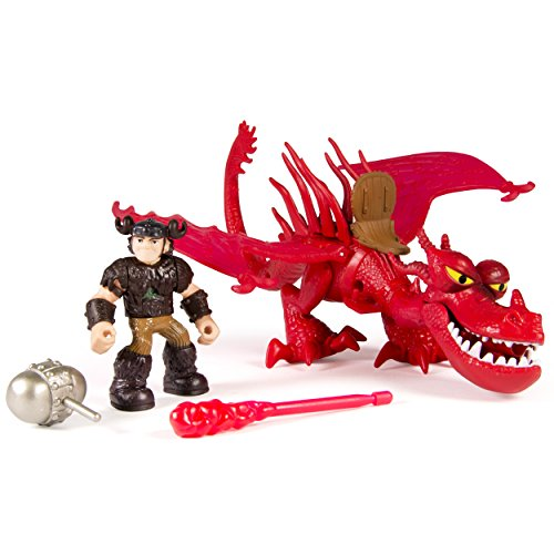 DreamWorks Dragons - Dragon Riders Rotzbakke und Hookfang [UK Import]