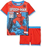 Spiderman Marvel Comics, Ensemble de Pyjama Garçon, Rouge (Red 016), 7-8 Ans