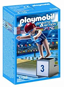 Playmobil 5198 Swimmer: Amazon.co.uk: Toys & Games