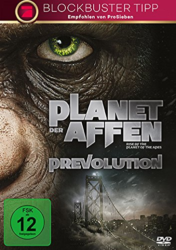 Der Planet der Affen: Prevolution (Planet Der Affen Dvds)