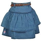 #8: Beanie Bugs Denim Short Skirt For Older Girls