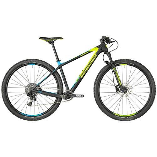 Bergamont Revox Sport 29'' Carbon MTB schwarz/gelb/blau 2018: Größe: L (176-183cm)