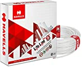Havells Life Line Plus 6 sq mm PVC HRFR Cable (White)