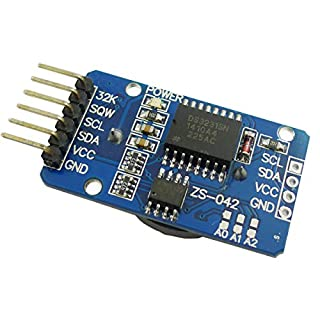 Aihasd DS3231 RTC AT24C32 IIC Precision Clock Module Storage Module For Arduino