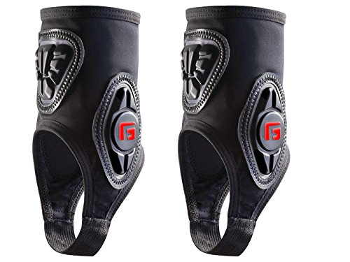 Herren Protektor Zubehör G-Form Pro Ankle Guard Black (Fußball-bekleidung Pro)