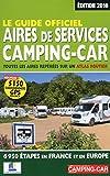 le guide officiel des aires de services camping car 2016