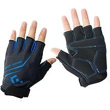 Hicool Fahrradhandschuhe Fitness- und Trainingshandschuhe Halb Finger Radsporthandschuhe Handschuhe für Herren und Damen - Ideal gloves für Radsport, Camping und mehr Sports im Freien
